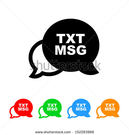 Text message icon clipart clipart royalty free library Text Message Icon Stock Photos, Royalty-Free Images & Vectors ... clipart royalty free library