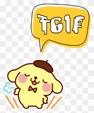 Tgif text clipart transparent Free PNG Free Clip Art Tgif Clip Art Download - PinClipart transparent