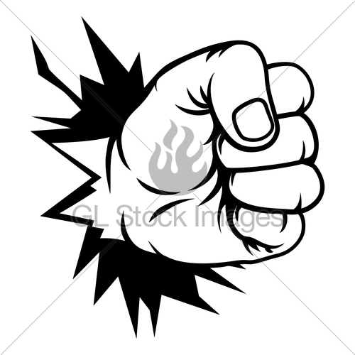 Th pictures of the hand punched the wall in clipart clip art library download Fist Hand Punching Through Wall · GL Stock Images clip art library download