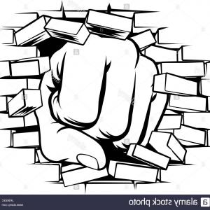 Th pictures of the hand punched the wall in clipart picture royalty free library Punching Hand With Clenched Fist Vector | SOIDERGI picture royalty free library