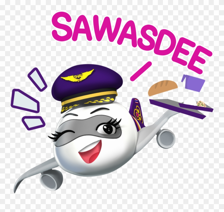 """Thai airways clipart svg library stock Shop,"""" Then Search For Thai Official Accounts Through - Thai ... svg library stock"""