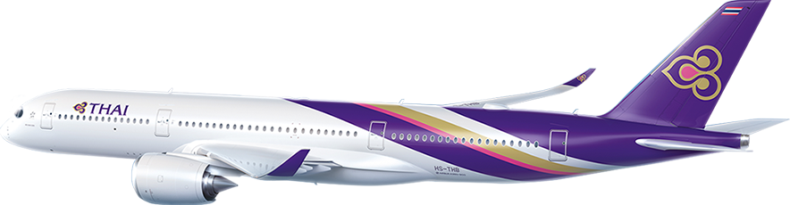 Thai airways clipart clip library download THAI Airways | Enchantment in the skies | 1843 Magazine clip library download
