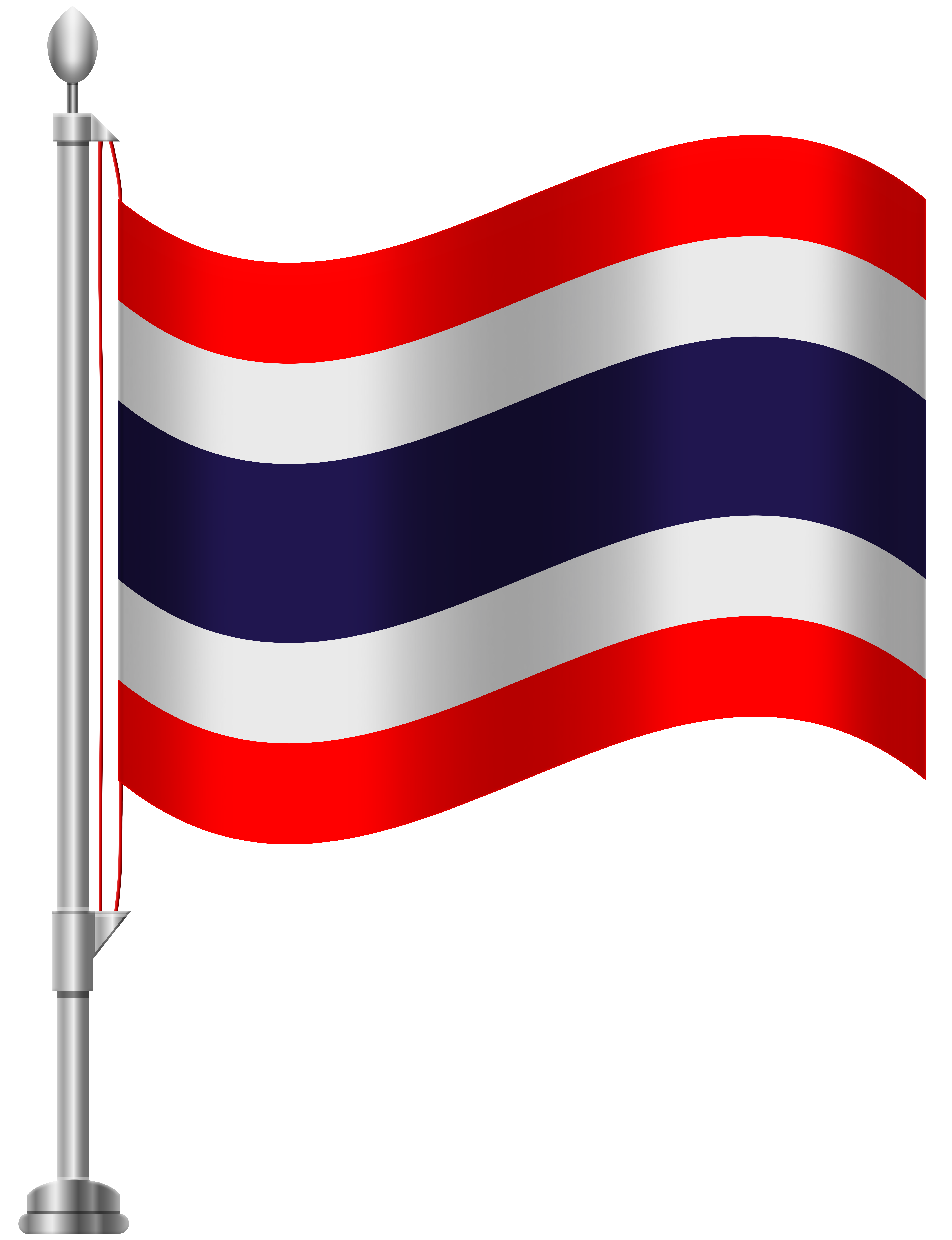 Thai flower clipart graphic free download Thailand Flag PNG Clip Art - Best WEB Clipart graphic free download
