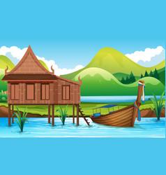 Thai house clipart graphic library stock Thai House Vector Images (over 710) graphic library stock