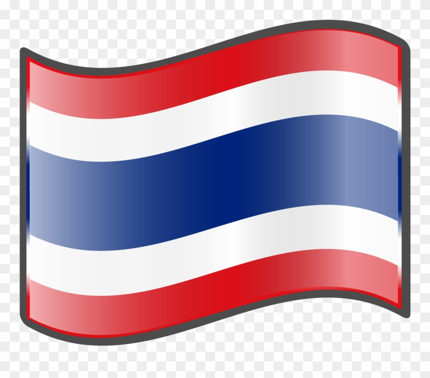 Thailand flag emoji clipart svg black and white library Thailand Flag Png - Thailand Emoji Clipart (#899017 ... svg black and white library