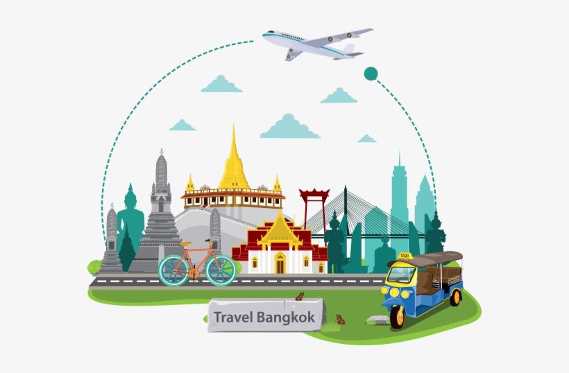 Thailand travel clipart