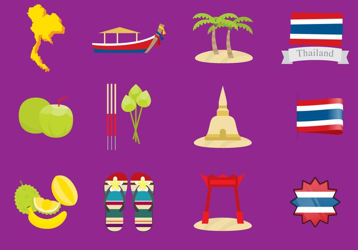 Thailand vector clipart png black and white library Thailand Icons - Download Free Vectors, Clipart Graphics ... png black and white library
