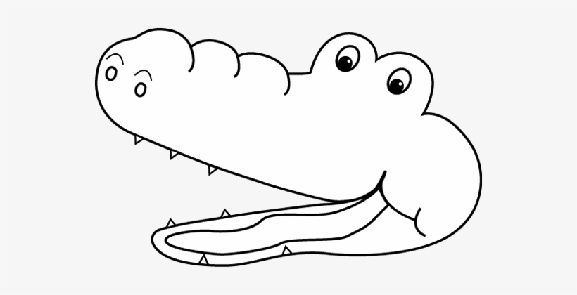 Than clipart black and white image freeuse library Alligator Black And White Gator Black And White Clipart ... image freeuse library