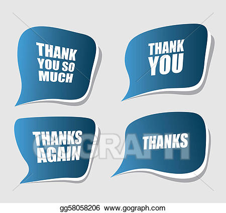 Thanks again clipart banner library stock Vector Stock - Thank you. Clipart Illustration gg58058206 ... banner library stock