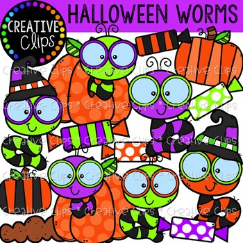 Thank you and please enjoy clipart clipart transparent library Halloween Freebie 2018 {Creative Clips Clipart} clipart transparent library
