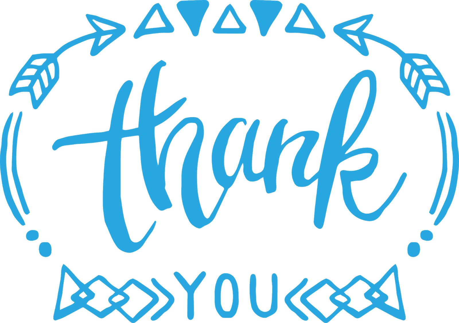 Thank you banner clipart jpg black and white download Thank you banner - Thank you PNG Image & Clipart - PNG Sector jpg black and white download