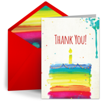 Thank you card clipart portrait image transparent library Free Thank You Notes, Thank You eCards, Greeting Cards ... image transparent library