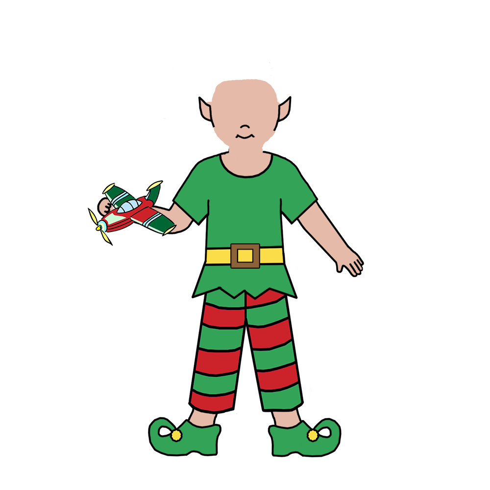 Thank you christmas clipart picture free download Christmas Elf Fill In the Blank Thank You Notes for Kids – Mandys ... picture free download
