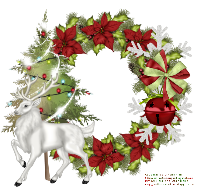 Thank you christmas clipart clip art royalty free Graphic Groupies: Country Christmas Cluster Frame clip art royalty free