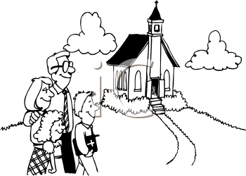 Thank you church family black and white clipart jpg library library Free Cartoon Church Pictures, Download Free Clip Art, Free ... jpg library library