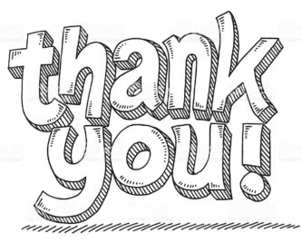 Thank you clipart black and white image free library Thank you black and white thank you clipart biezumd ... image free library