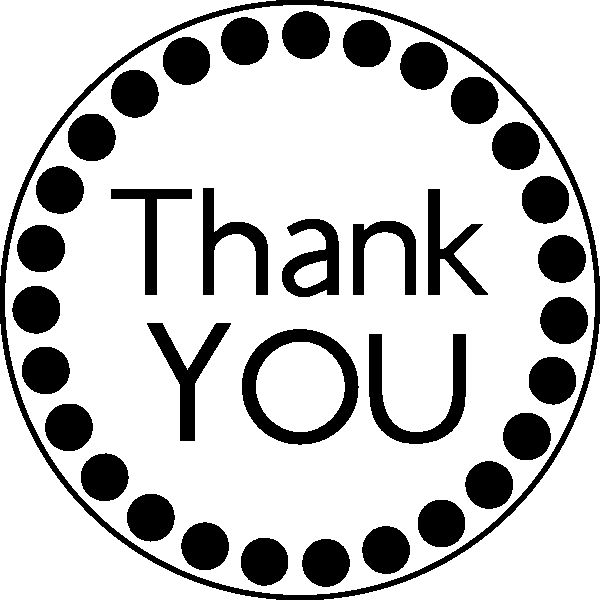 Thank you clipart black and white vector black and white Thank You Clipart Black And White | Free download best Thank ... vector black and white