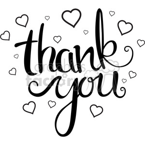 Thank you clipart black and white heart clipart free you clipart - Royalty-Free Images | Graphics Factory clipart free