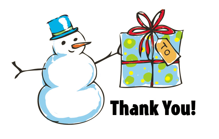 Thank you clipart gift to child picture royalty free download Christmas Thank You Clipart - 65 cliparts picture royalty free download