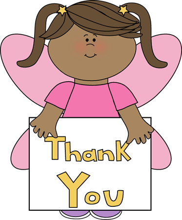 Thank you clipart kids banner library library thank you clip art | Thank You Fairy - little girl fairy ... banner library library