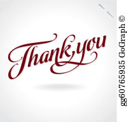 Thank you clipart masculine svg stock Thank You Clip Art - Royalty Free - GoGraph svg stock