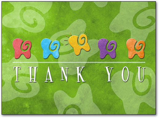 Thank you clipart tooth picture free download Dental Folding Cards | Benco picture free download