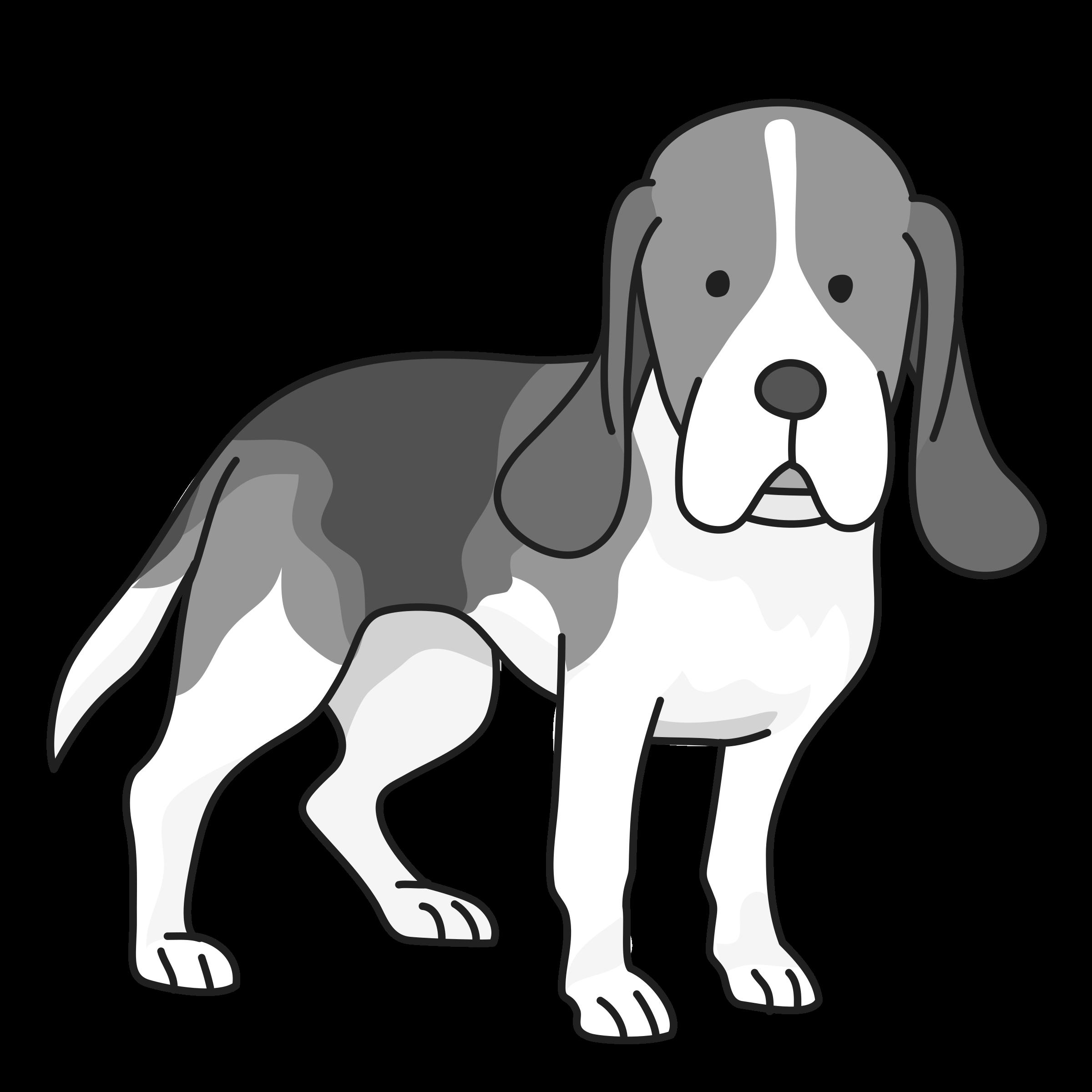 Thank you dog clipart picture Beagle Dog Clipart - ClipartBlack.com picture