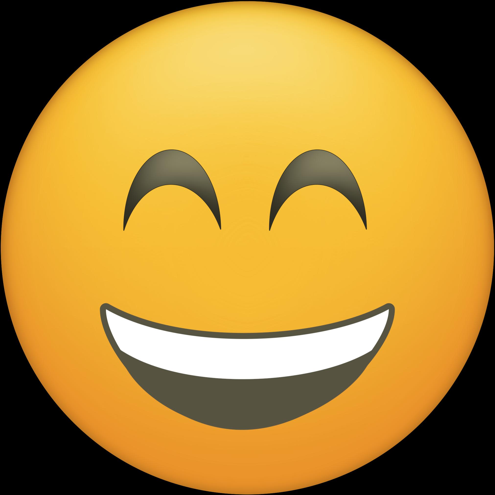 Thank you emoji clipart banner freeuse library Blushing Happy Face Emoji Printable - Printable Emojis ... banner freeuse library