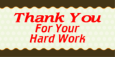 Thank you for all your hard work clipart vector free download Thank You For Your Hard Work Images – Quotesta vector free download