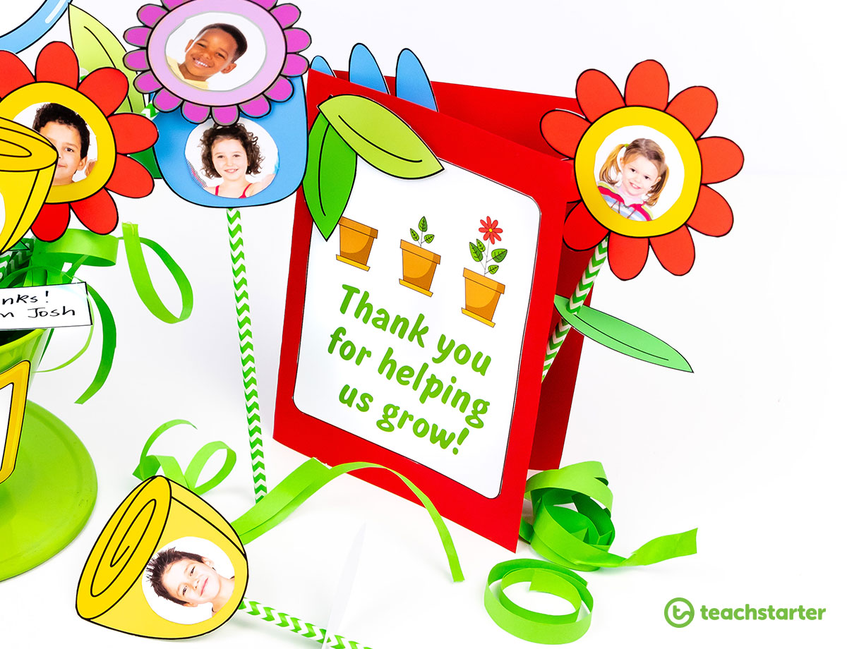 Thank you for helping us grow clipart