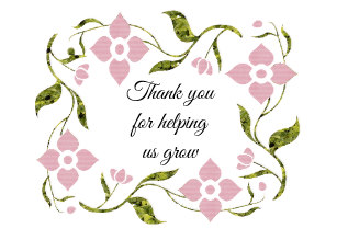 Thank you for helping us grow clipart jpg library Thank You Helping Us Grow Gifts on Zazzle jpg library