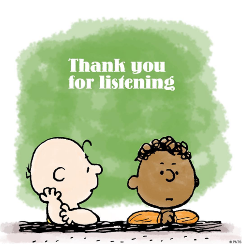 Thank you for listening cliparts png black and white library Thank you for listening clipart 3 » Clipart Station png black and white library