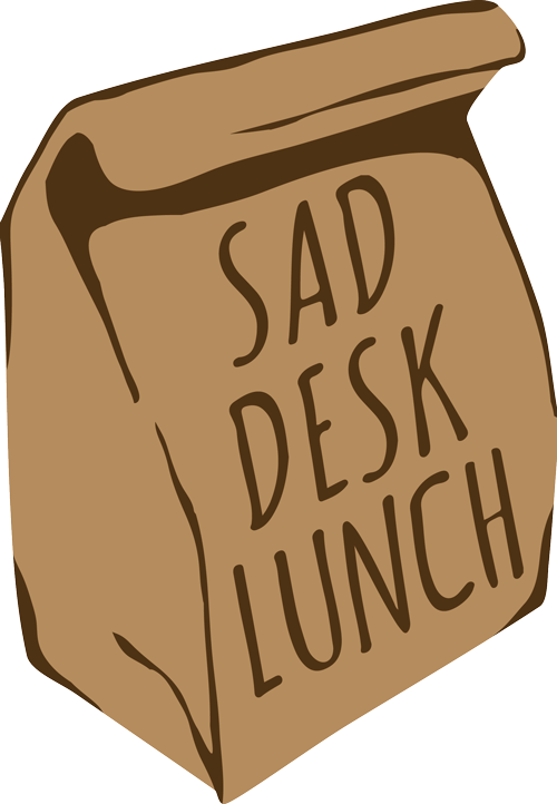 Thank you for lunch clipart image freeuse library sad desk lunch — Thank you for the Logo, Watters Design! image freeuse library