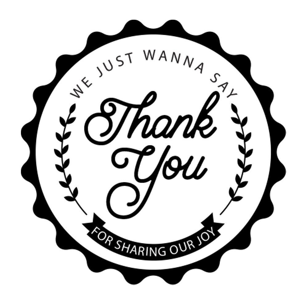 Thank you for sharing clipart png Amazon.com: Thank You For Sharing Our Joy Sticker Labels ... png