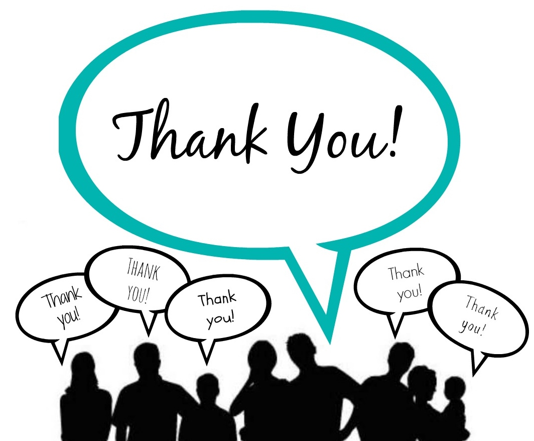 Thank you for wathcing clipart white people picture black and white Thank You Very Much | Free download best Thank You Very Much ... picture black and white