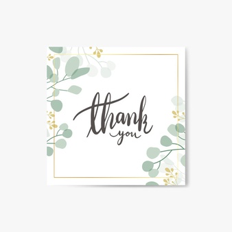 Thank you greenery free clipart vector black and white download Thank You Vectors, Photos and PSD files | Free Download vector black and white download
