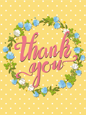 Thank you card clipart portrait clipart transparent download Thank You Cards   Birthday & Greeting Cards by Davia - Free ... clipart transparent download