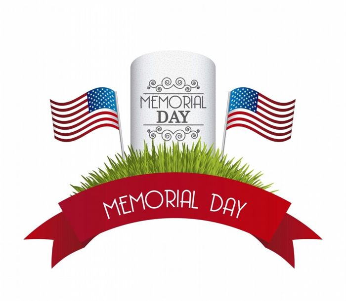 Thank you memorial day clipart picture black and white download Memorial Day Clipart - Happy Memorial Day Images 2019 ... picture black and white download