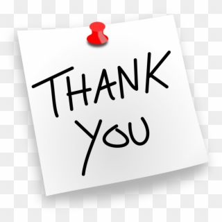 Thank you note clipart transparent jpg royalty free download Thank You PNG Images, Free Transparent Image Download - Pngix jpg royalty free download
