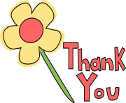 Thank you note clipart transparent clip art free stock THANK YOU Clipart Free Images clip art free stock