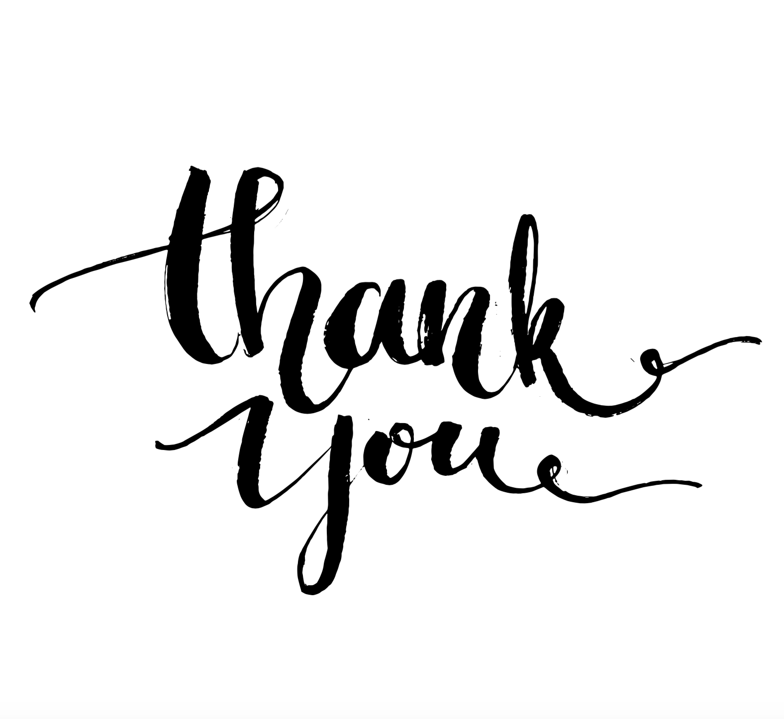 Thank you spring clipart in black and white clip art royalty free Thank You Png | Free download best Thank You Png on ... clip art royalty free