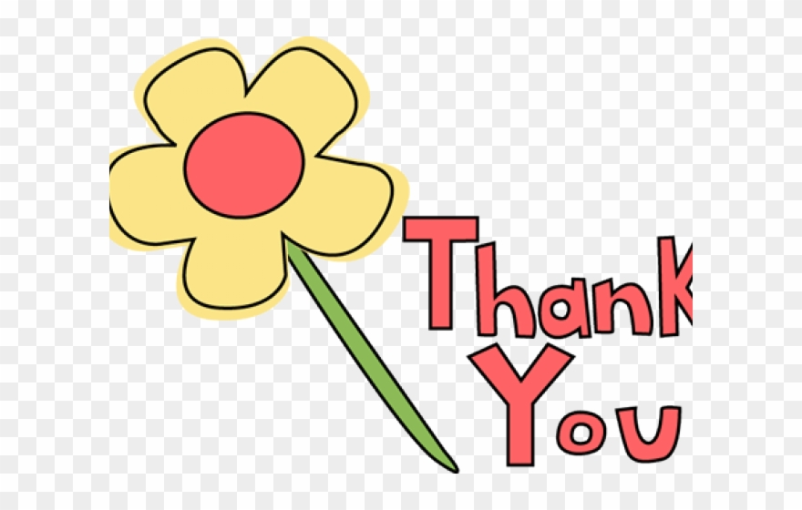 Thank you in flowers clipart png royalty free Thank You Clipart Banner - Thank You Flowers Clipart - Png ... png royalty free