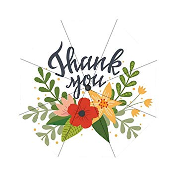 Thank you in flowers clipart clip art library stock Amazon.com: Thank You Flowers Clip Art Umbrella Custom ... clip art library stock
