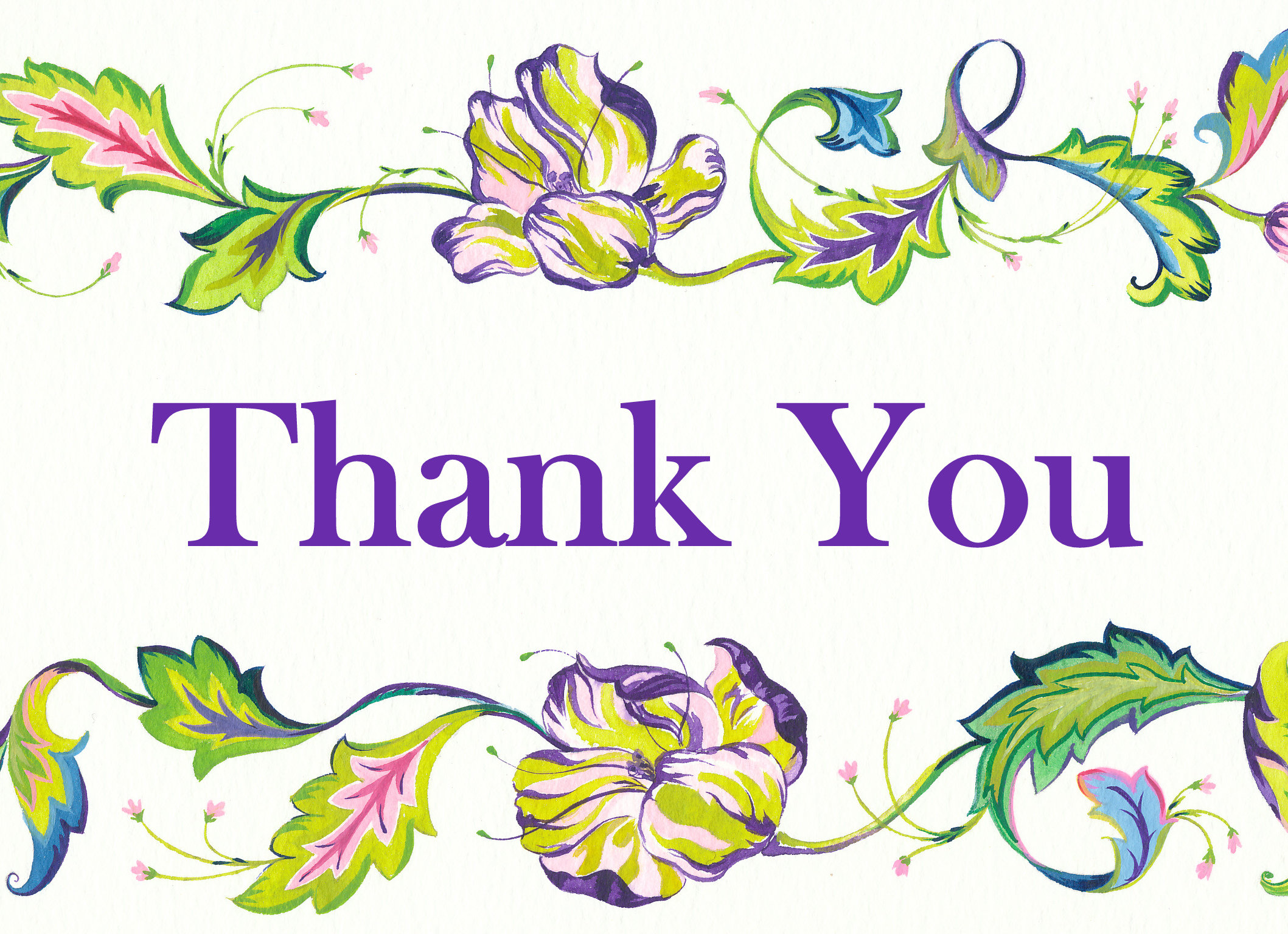 Thank you with tulip clipart graphic black and white download Tulip Thank You graphic black and white download