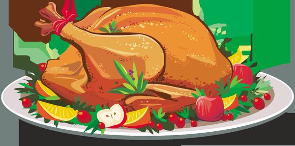 Thankgiving dinner clipart clipart clip royalty free download Thanksgiving dinner clipart images - ClipartFest clip royalty free download
