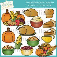 Thankgiving dinner clipart clipart jpg library download Thanksgiving dinner food clipart - ClipartFest jpg library download