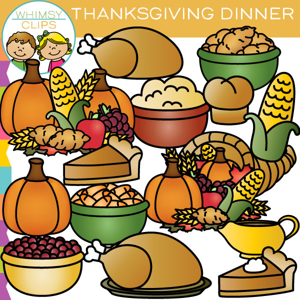 Thankgiving dinner clipart clipart image royalty free library Thanksgiving Dinner Clip Art & Thanksgiving Dinner Clip Art Clip ... image royalty free library