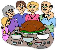 Thankgiving dinner clipart clipart jpg black and white stock Clipart Thanksgiving Dinner & Thanksgiving Dinner Clip Art Images ... jpg black and white stock