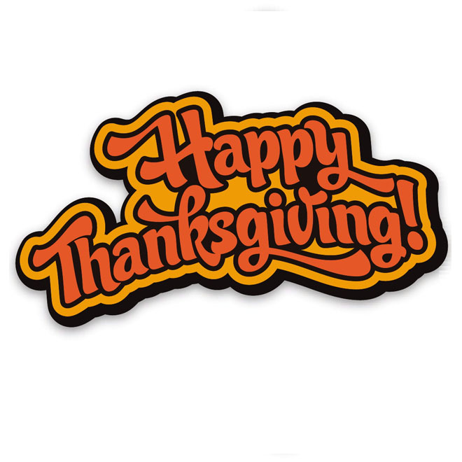 Thankgiving vector clipart banner royalty free HAPPY THANKSGIVING VECTOR - Free vector image in AI and EPS ... banner royalty free