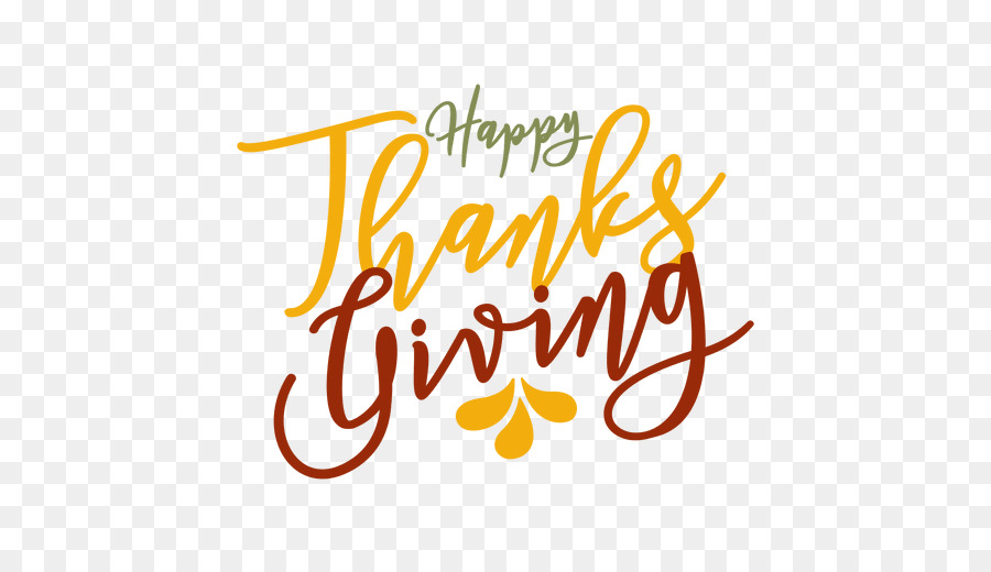 Thankgiving vector clipart svg black and white library Thanksgiving Party Christmas - Happy Thanksgiving Vector png ... svg black and white library